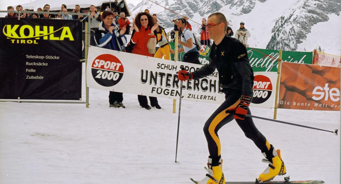 Weltrekord Günter Burgsteinenr