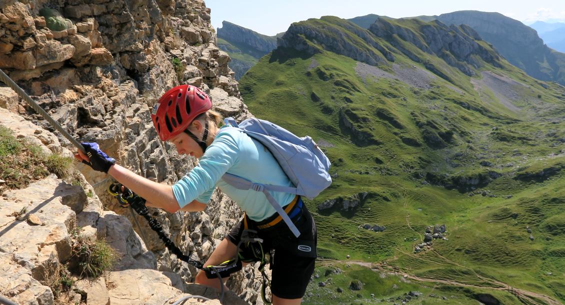 Alpine Klettersteig Tour