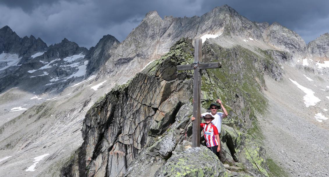 Bergwandern Gipfel