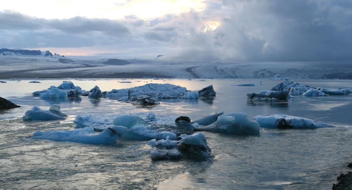 Eisbergsee Island