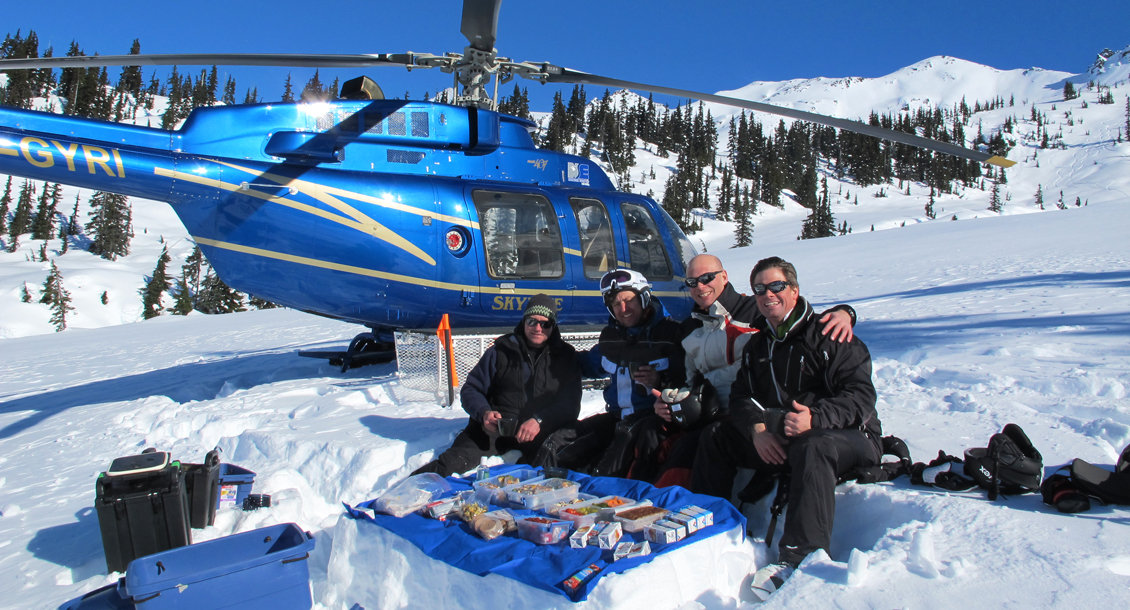RAW Helikopter Skiing