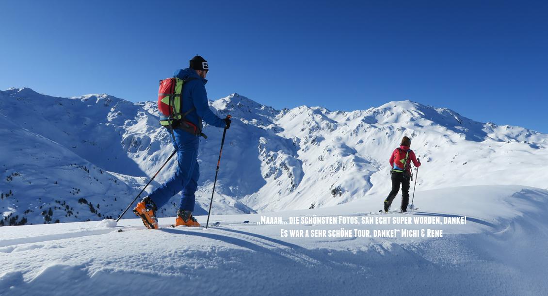RAW Skitour Gehen Zillertal