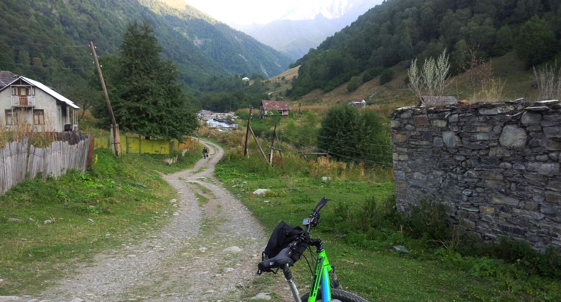 Mountainbiken Georgien