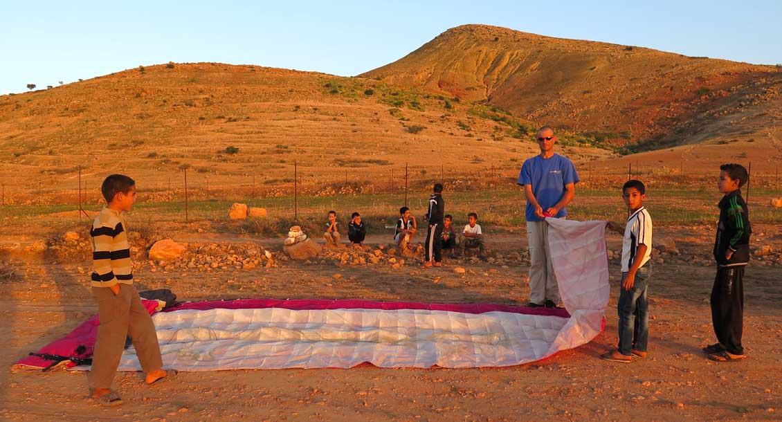 Marokko Gleitschirmreise