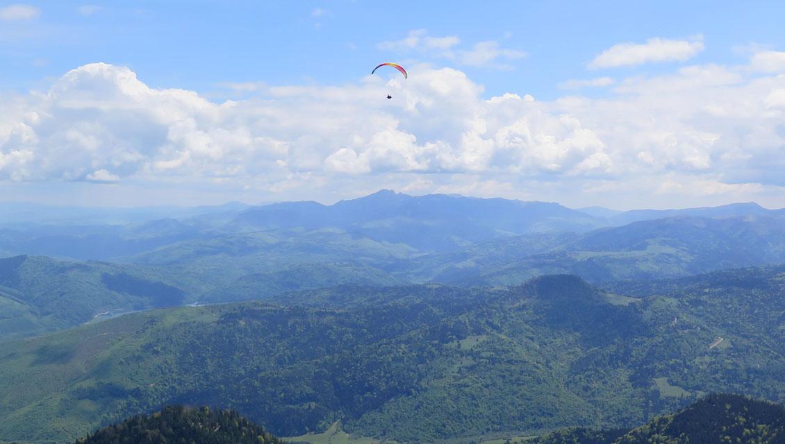 Gleitschirmurlaub Karpaten