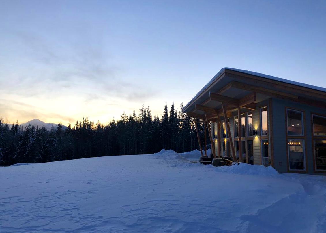RAW Heliskiing Lodge