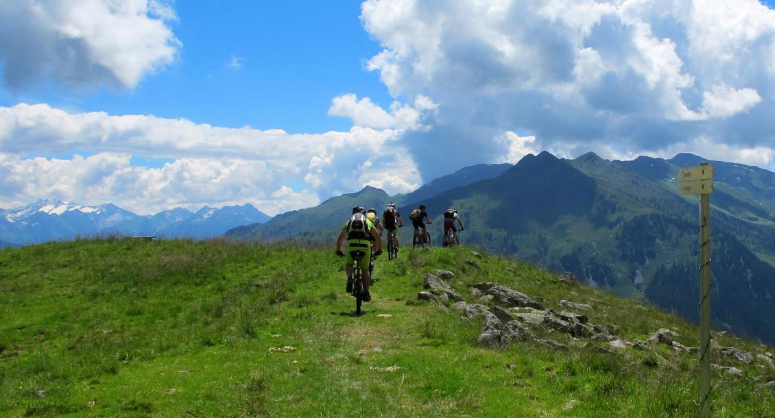RAW Mountainbiken im Zillertal