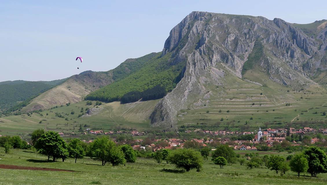 Paragliding Rumänien