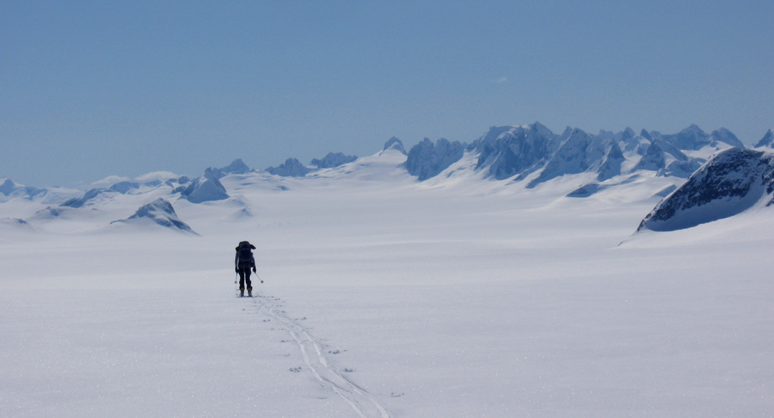 RAW Skidurchquerung Junaeu Icefield