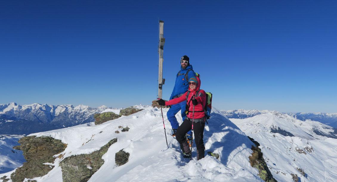 RAW Skitour Freeride mit Gipfel