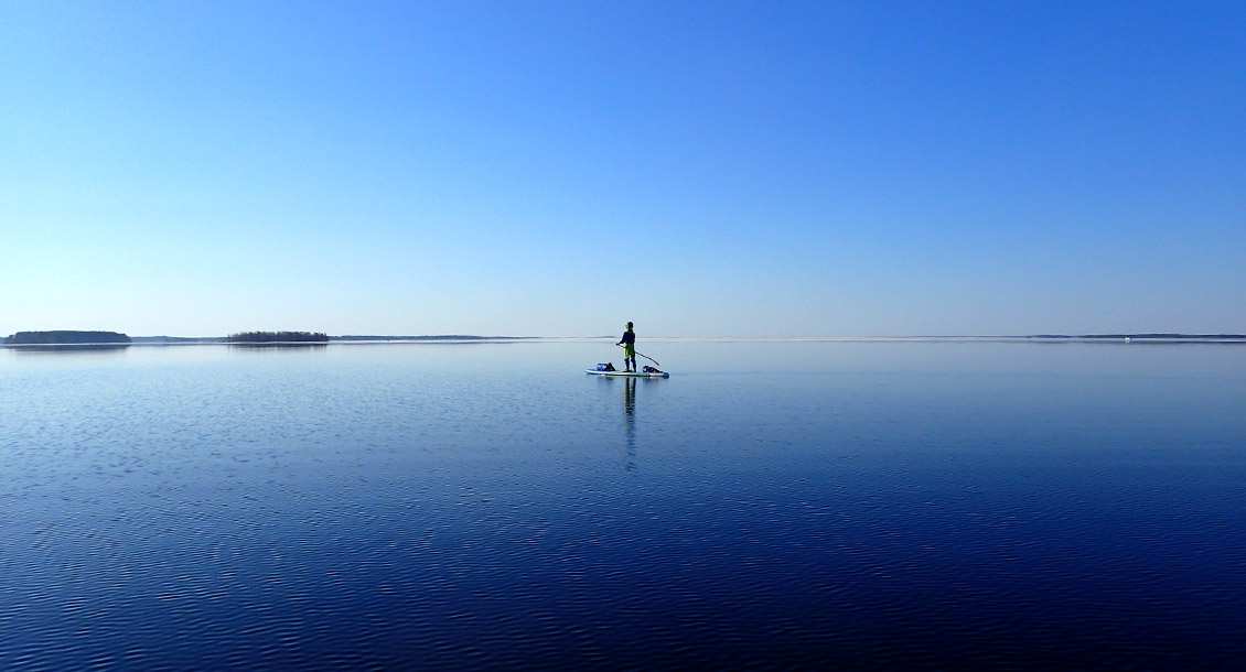 SUP Reise Finnische Seenplatte