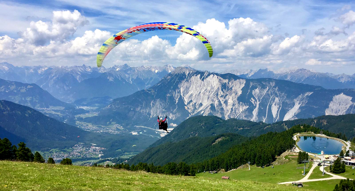 tandem paragliding area47