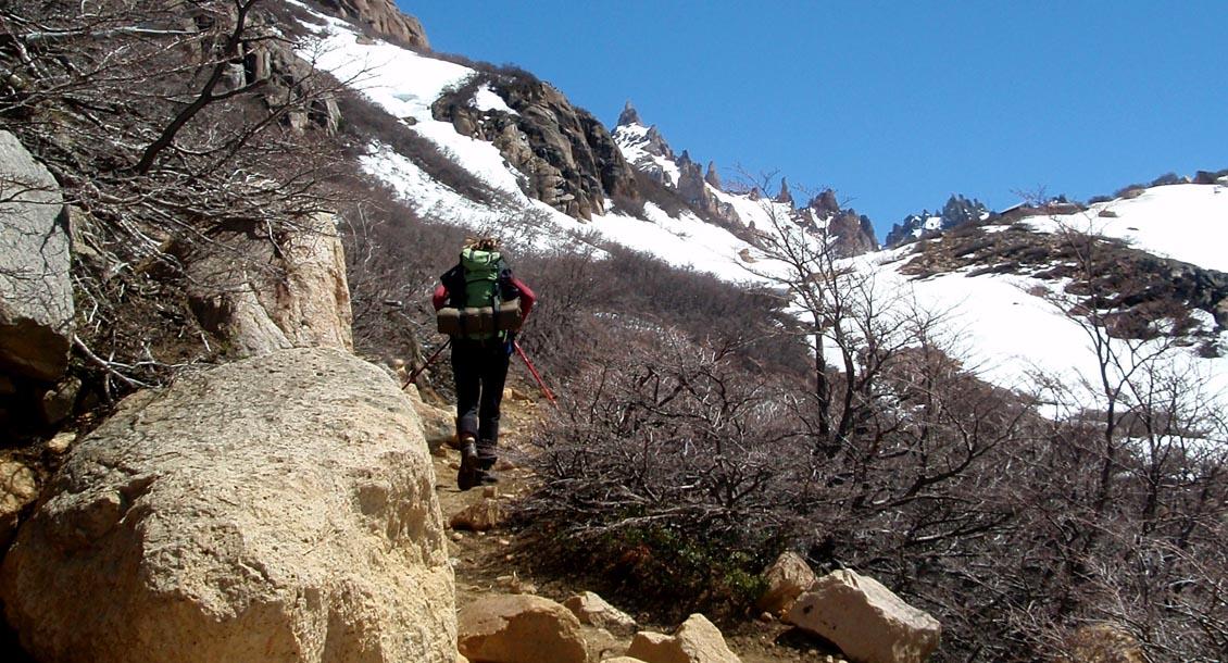 Hüttentrekking Patagonien